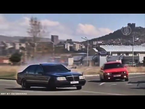 Giorgi Tevzadze Drift / Mercedes Benz W140 S 7.0 AMG & BMW E34 M5
