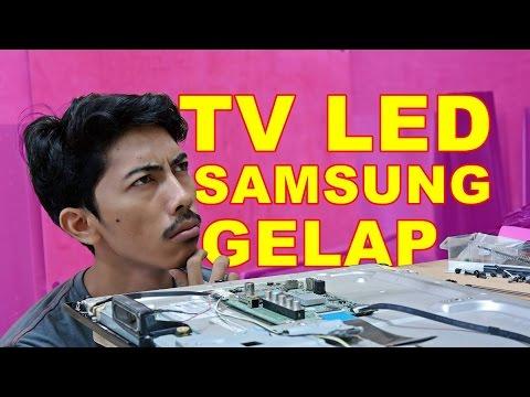 RAHASIA TV LED SAMSUNG GELAP - VLOG7