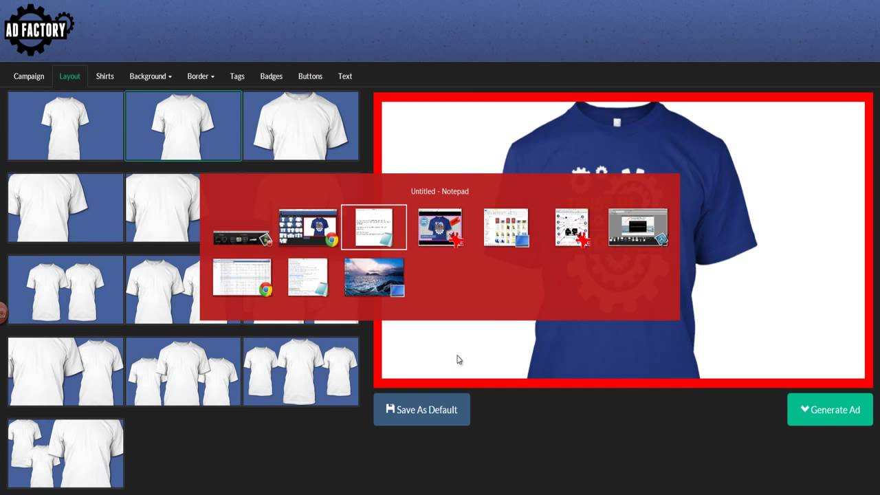 how to create an ad on facebook for teespring