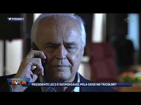 Presidente Leco é Responsável Pela Crise No Tricolor?