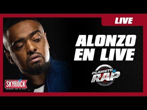"""Alonzo en live """"Avenue De St Antoine"""" #PlanèteRap"""