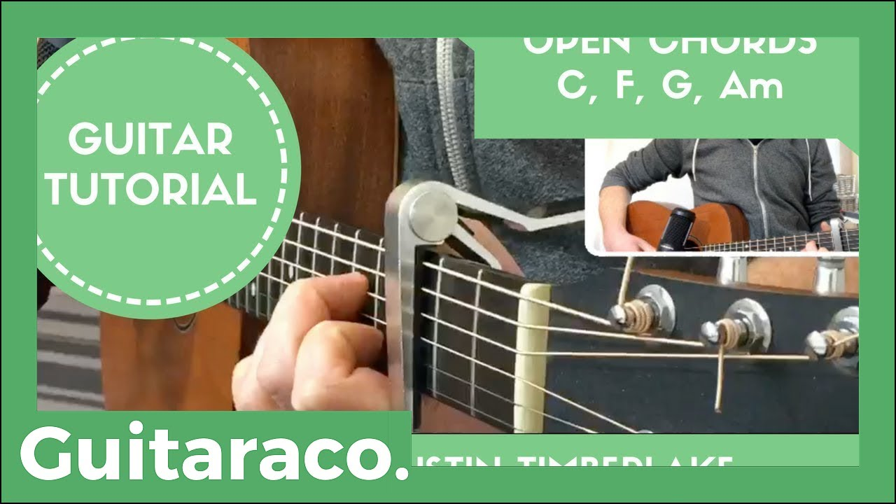 Flannel Justin Timberlake Easy Guitar Song Lesson Tutorial