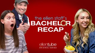 The Ellen Staff's 'Bachelor' Chat with Corinne