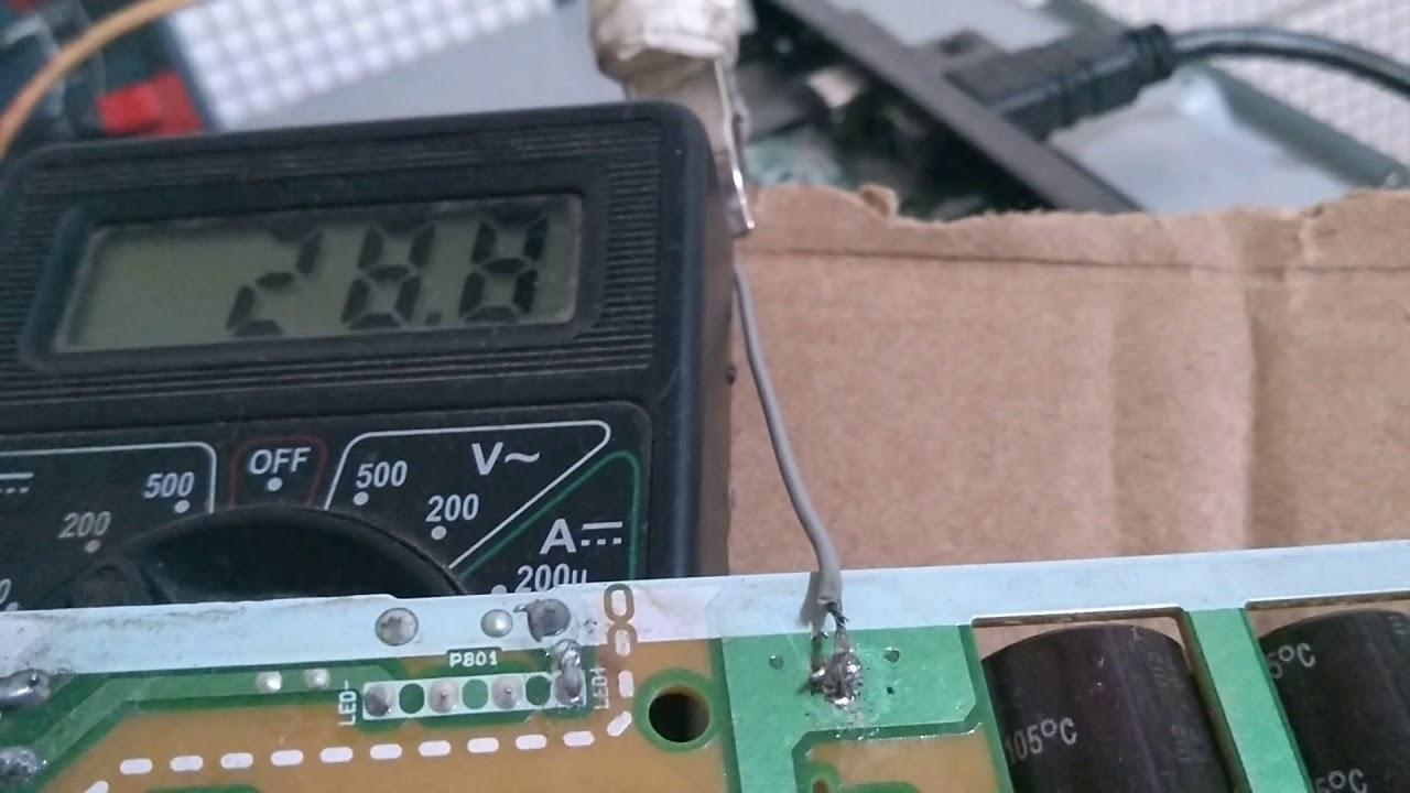 Defeito da TV LG 32lb550b