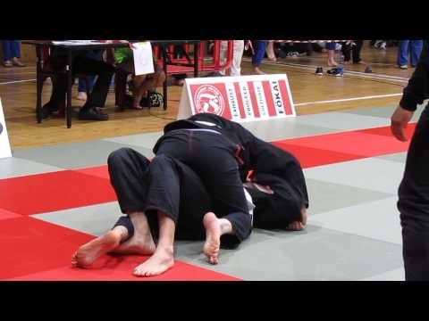 BJJ Irish Open 2014 - White Belt - Masters - Lightweight - Semi Final