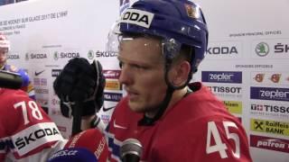 Radim Šimek po čtvrtfinále Rusko - Česko 3:0