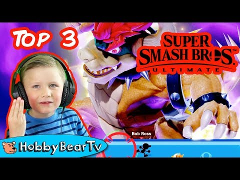 Super Smash Bros Ultimate Top 3 by HobbyBearTV thumbnail