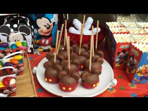 Ideas para cumpleaños de Mickey