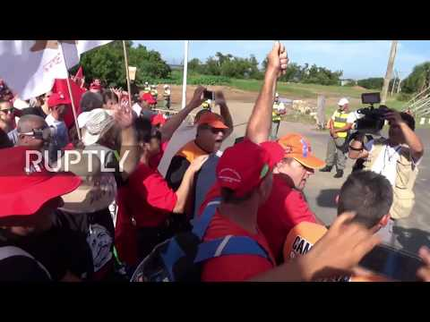 Brazil: Hundreds out in force to show support for convicted Lula