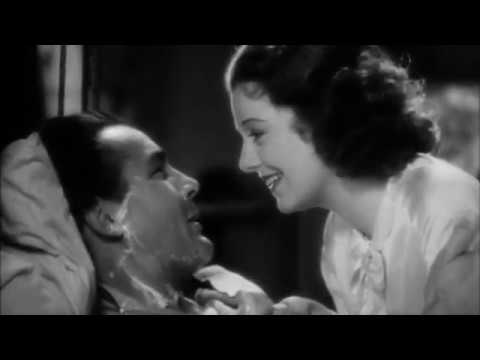 Janet Gaynor shaves Charles Farrell in