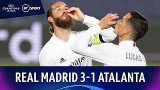 Real Madrid v Atalanta (3-1) | Benzema Stars In Comfortable Victory | Champions League Highlights