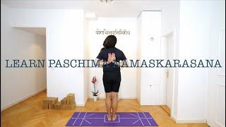 LEARN PASCHIMA NAMASKARASANA WITH SHAHID KHAN. YOGVEDA YOGA. Yoga Bern