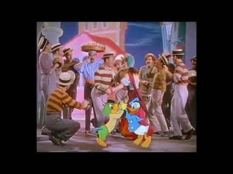 Classic Disney: Bahia (1944) - Brazilian Dance Scene - Os Quindins de Yayá