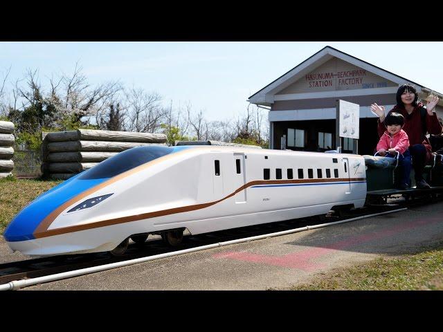 日本一長い距離のミニ鉄道 蓮沼海浜公園のミニトレインに乗ってきた