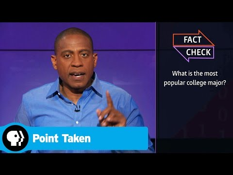 POINT TAKEN | Fact Check: Most Popular Major | PBS