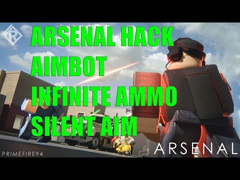 ROBLOX SCRIPT HACK FOR ARSENAL ! AIMBOT ! EXPLOIT ! INFINITE AMMO ! SILENT AIM