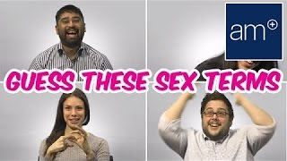 Repeat youtube video Random People Guess Weird Sex Terms