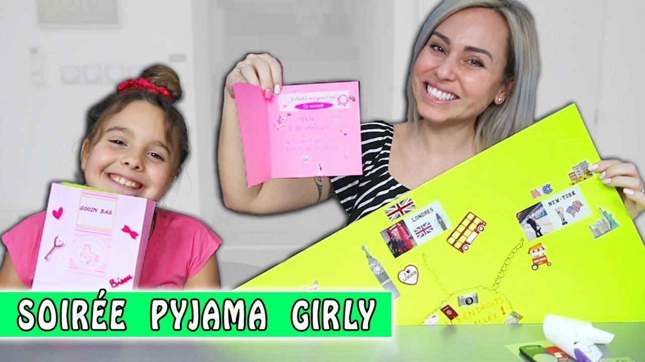 soir e pyjama girly diy pour organiser une soir e pyjama. Black Bedroom Furniture Sets. Home Design Ideas