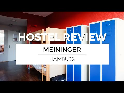 Visiting HAMBURG with MEININGER Hotels | HOSTEL REVIEW TRAVEL VLOG