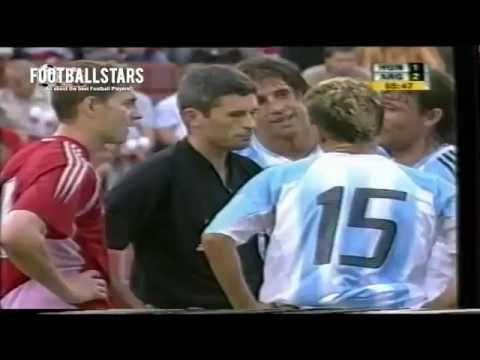 Lionel Messi First Red Card - Insane Debut for Argentina