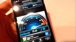 T-Mobile 4G LTE Speed Test on an HTC One