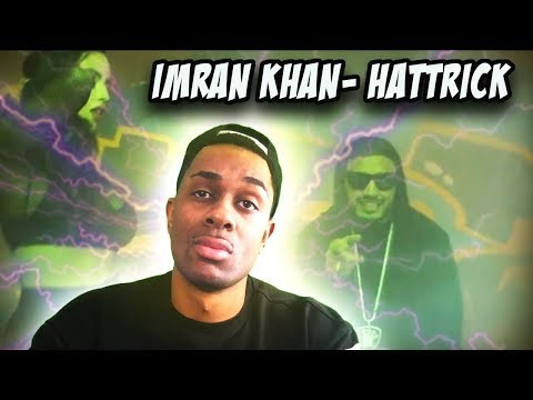AMERICAN REACTS TO INDIAN RAP | Imran Khan - Hattrick X Yaygo Musalini (Official Music Video)