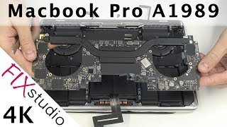MacBook Pro 2018 / A1989 - disassemble [4k]