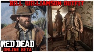 Bill Williamson Outfit Tutorial in the Red Dead Online Beta