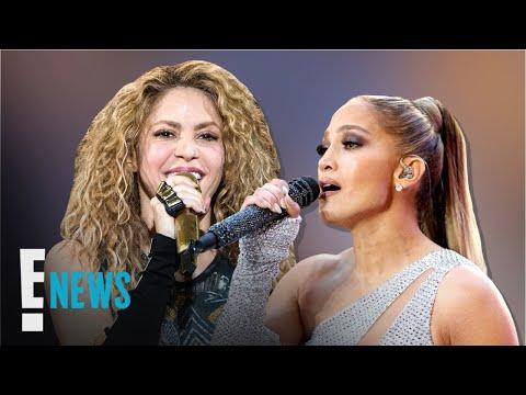 Jennifer Lopez & Shakira Score the Super Bowl 54 Halftime Show   E! News
