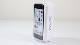 iPhone 5c (2018 год) Распаковка