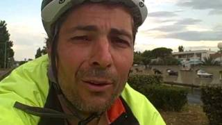 Cycle camping coast to coast touring in France