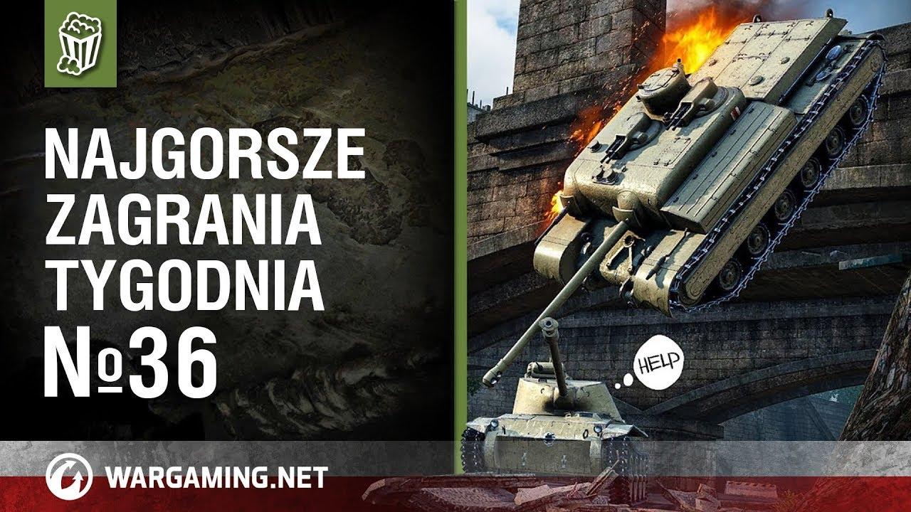 Najgorsze zagrania tygodnia №36 [World of Tanks Polska]