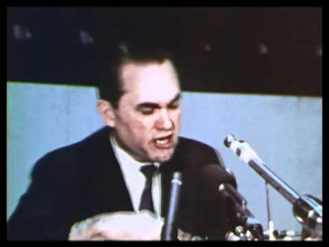 George Wallace discusses the right to dissent 1967