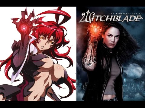 Witchblade anime and Live action review