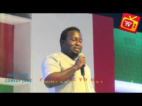 Video (stand-up): Comedian Talks About Nigerian Musicians & More