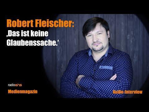 UFOs sind keine Glaubenssache - Interview mit Robert Fleischer im radioeins-Medienmagazin (rbb)