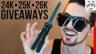 24K ▪ 25K ▪ 26K Giveaway (Closed ⌛️)