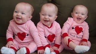 Смешные Тройняшки - Дети смеются. Сборник [NEW HD]