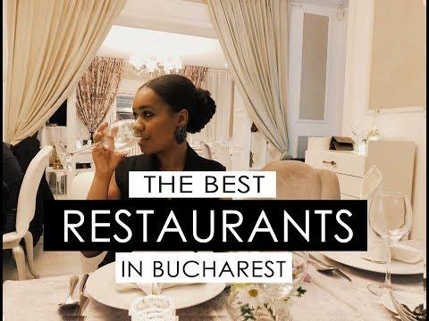 TOP 5 RESTAURANTS  BUCHAREST I Mara