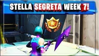 STELLA SEGRETA WEEK 7 SEASON 9 FORTNITE - SECRET BATTLE STAR LOCATION WEEK 7 FORTNITE