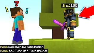 I was so good that they accused me of hacking... (MCPE)