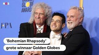 Bohemian Rhapsody grote winnaar bij de Golden Globes