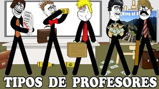 Historias con memes breves 62 / Tipos de profesores