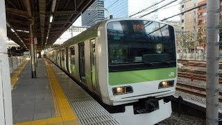山手線E231系『SUPERNAL LIBERTY』トウ507編成 大崎駅発車!