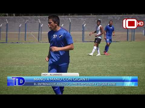 Mano mano con Giganti, el entrenador de Alvarado
