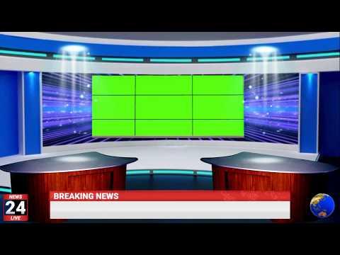 breaking news with sound | 3d news studio | tv studio background #studio #tv #news goharinfo