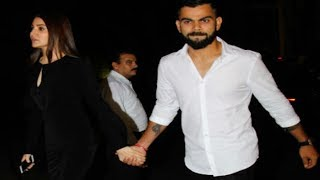 Anushka Sharma & Virat Kohli WALK HAND IN HAND for Zaheer & Sagarika Engagement