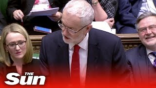 Theresa May grilled on Brexit in Parliament (FULL)