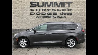SOLD! 7C140A 2017 USED CHRYSLER PACIFICA TOURING L STOW N GO REVIEW WISCONSIN www.SUMMITAUTO.com