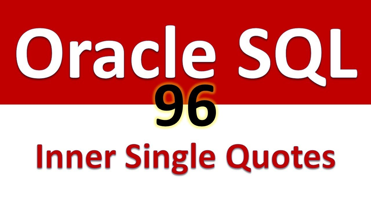 Oracle Sql Developer Tutorial For Beginners 96 Exception Inner